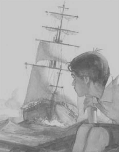 niño-barco